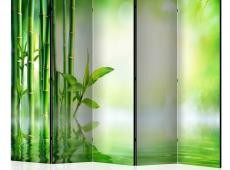 Paraván - Green Bamboo II [Room Dividers]